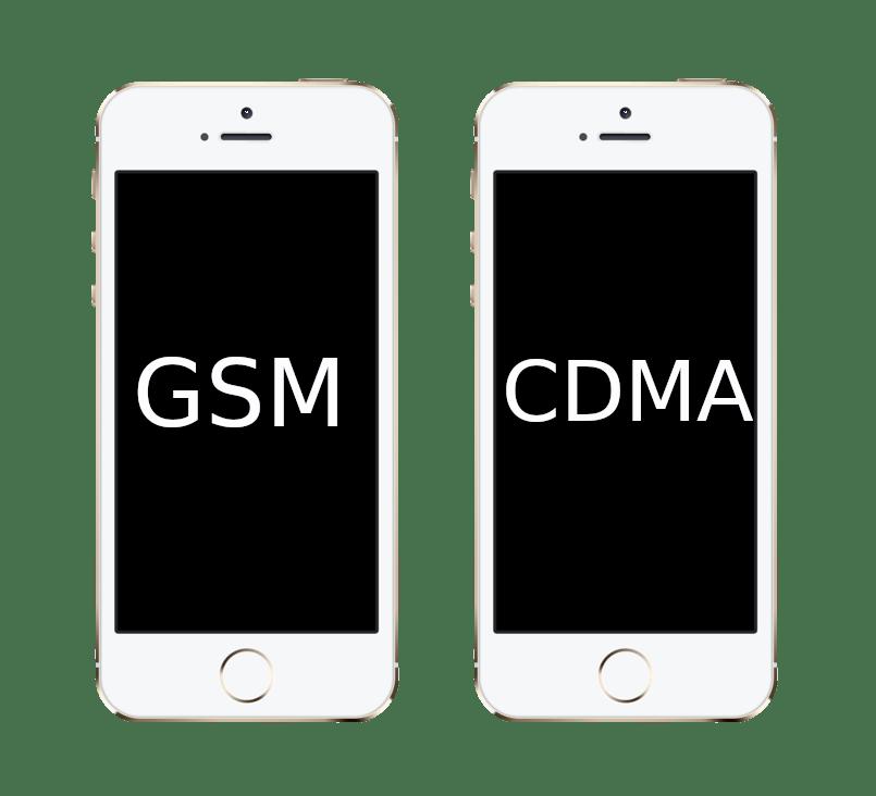 GSM и CDMA модели iPhone 5S