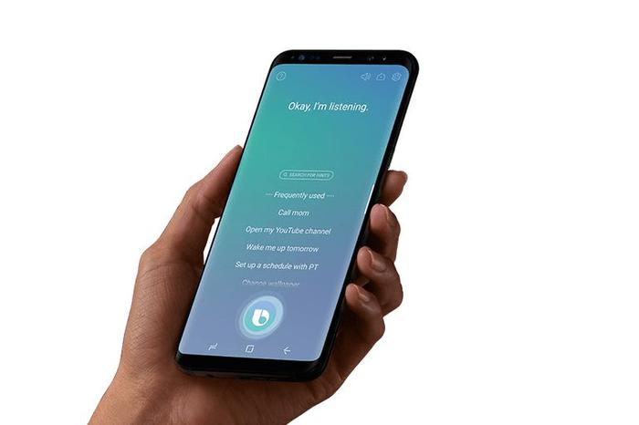 Голосовой помощник Bixby на Samsung