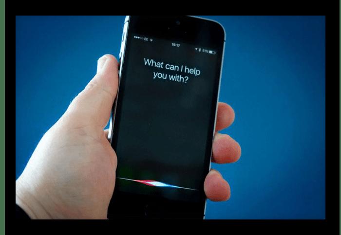 Голосовой помощник Siri на iPhone