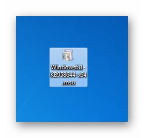 Изолированный пакет обновления безопасности KB958644 в Windows 7