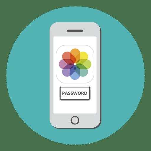Как поставить пароль на фото в Айфоне