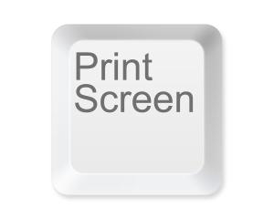 Кнопка Print Screen на клавиатуре компьютера