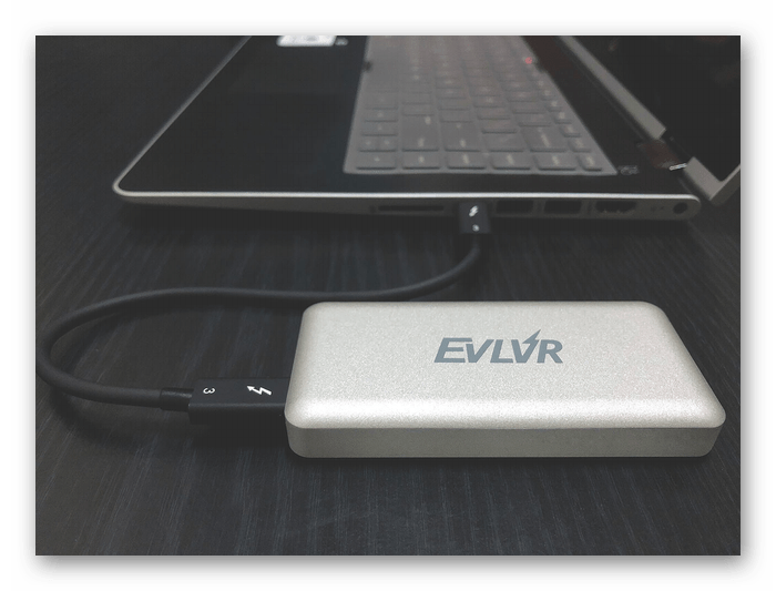 Подключение внешнего жесткого диска к ноутбуку