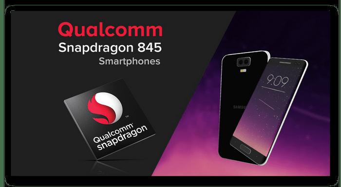 Процессор Qualcomm Snapdragon 845, устанавливаемый в устройства от компании Samsung