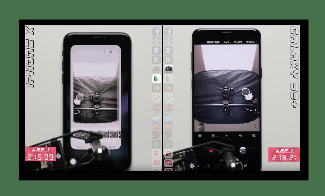 Результаты первого теста iOS 12 и Android 8