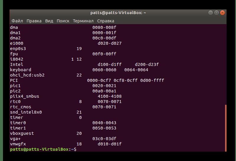 Список всех подключенных устройств в Linux