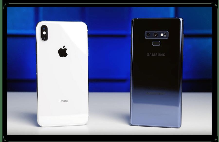 Сравнение камер на iPhone XS Max и Galaxy Note 9