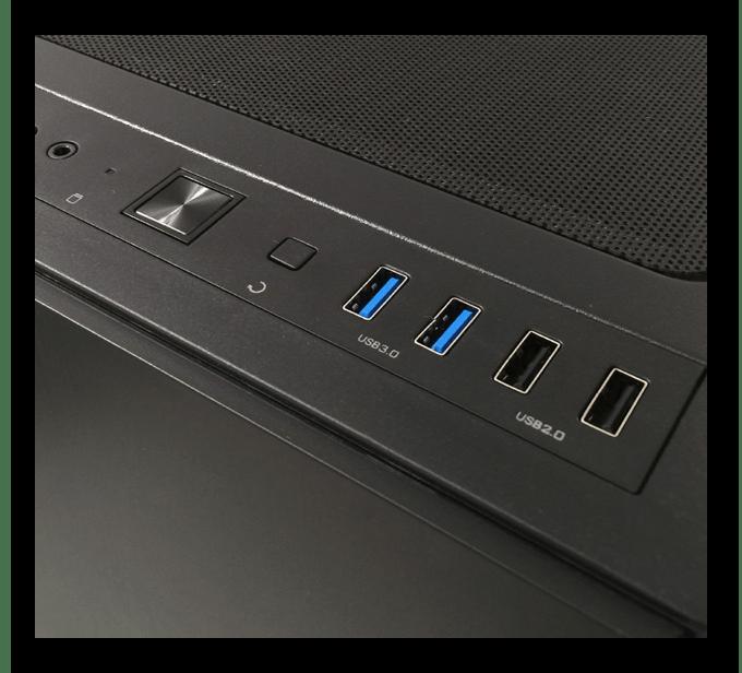 USB 3.0 и 2.0 на корпуск компьютера