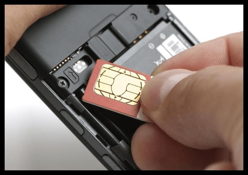 Вставка СИМ-карты в другой телефон