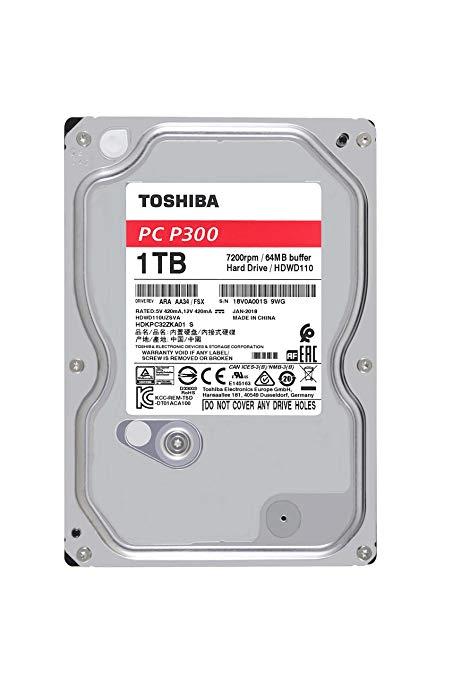 Жесткий диск компании TOSHIBA