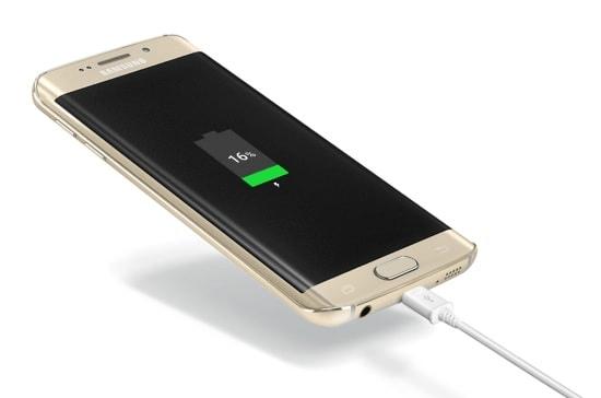 Зарядка телефона Samsung