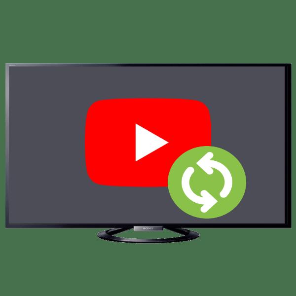 как обновить приложение ютуб на телевизоре сони
