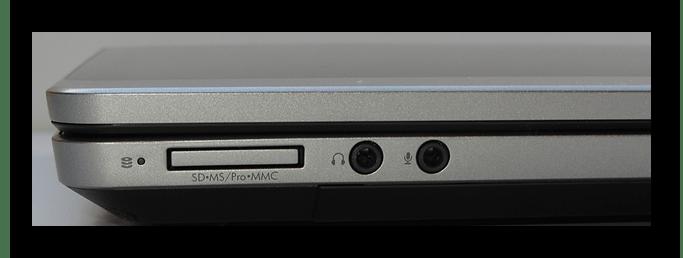 ноутбук со встроенным картридером