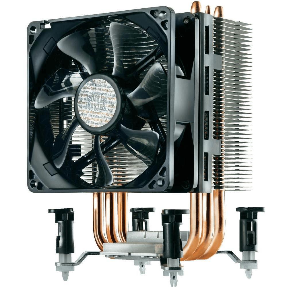 Башенный кулер для процессора с тепловыми трубками