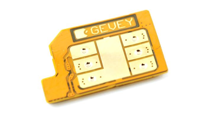 Чип Gevey-SIM для разлочки iPhone