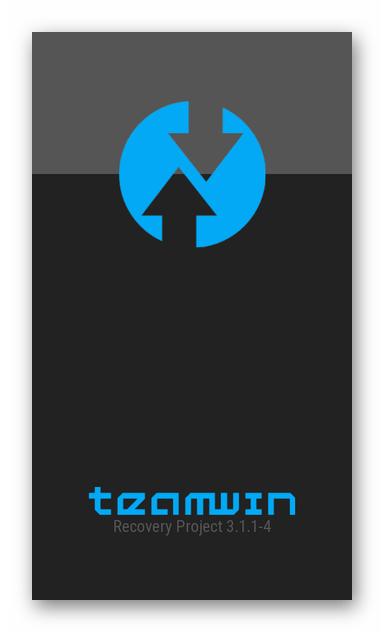Lenovo S650 запуск рекавери TWRP инсталлированного через Flash Tool