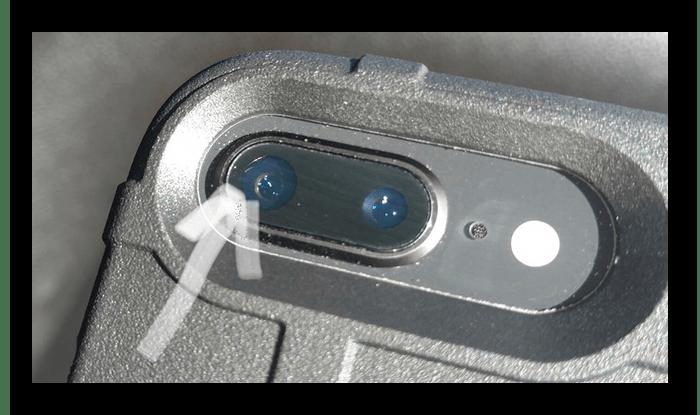 Осмотр камеры iPhone на наличие дефектов при покупке с рук