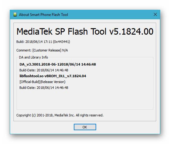 Прошивка смартфона Fly IQ4404 с ПК через программу SP Flash Tool