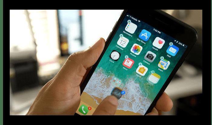 Проверка состояния сенсора экрана iPhone при покупке с рук