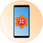 В приложении Настройки произошла ошибка на Андроид