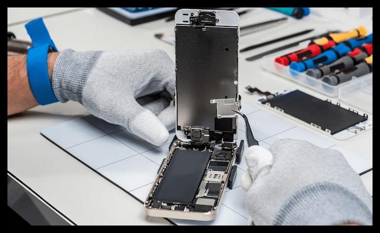 Замена неисправного WiFi-модуля на iPhone