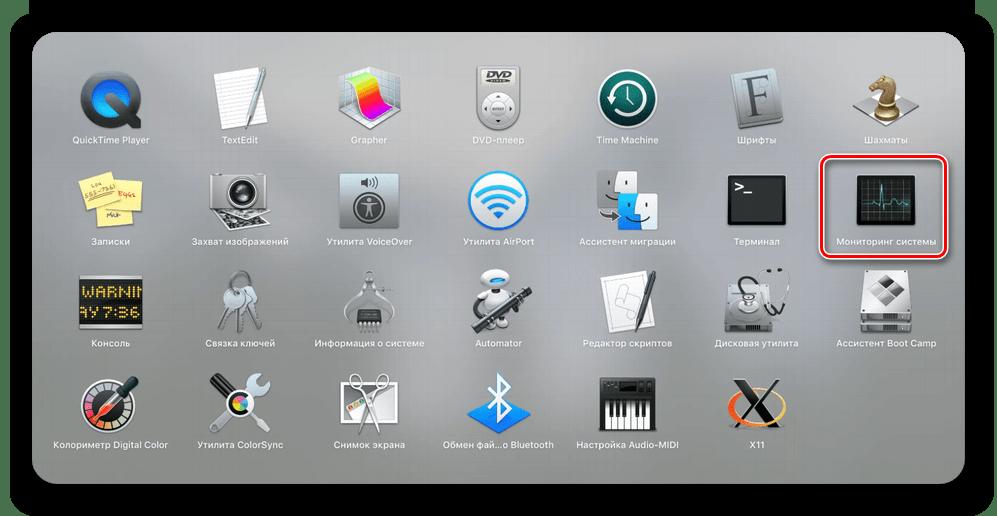 Запуск Мониторинга системы через папку в Launchbox на macOS