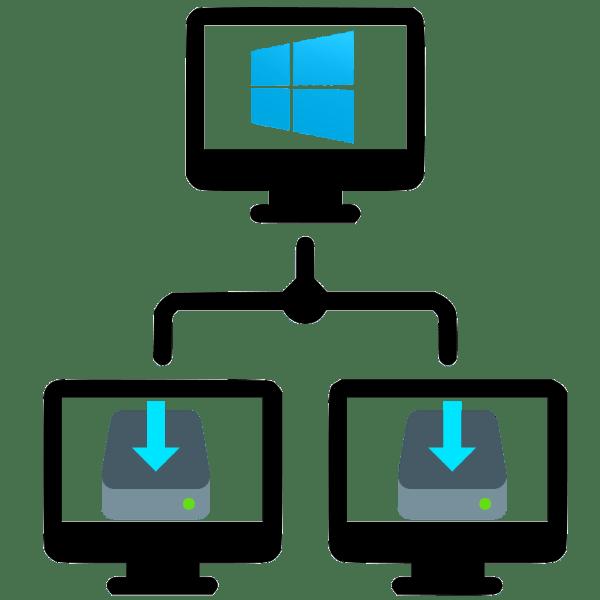 как установить windows 10 по сети
