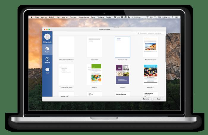 Microsoft Office в среде операционной системы macOS