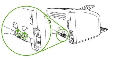 Откручивание винтов тормозной площадки при разборке принтера Canon