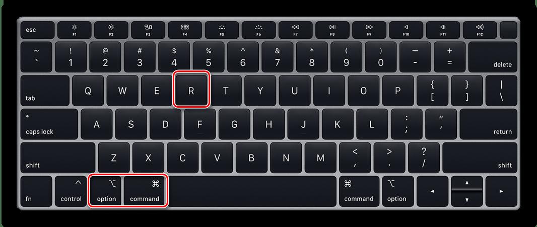Переустановка последней поддерживаемой системы macOS способом через интернет