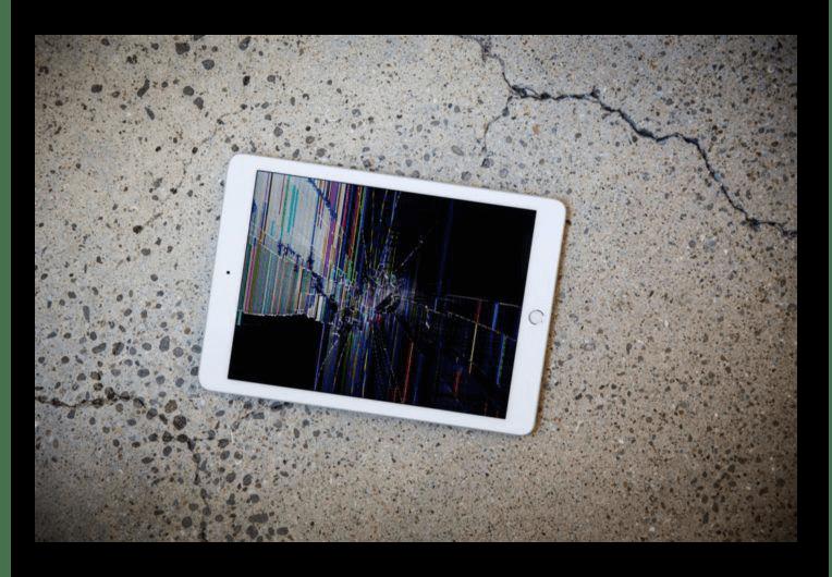 Поломка iPad