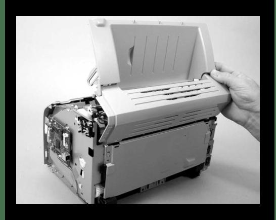 Снятие задней панели принтера Canon при его разборке