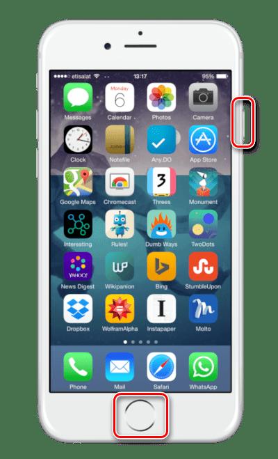 Ввод iPhone в режим DFU