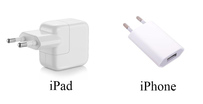 Зарядные устройства iPad и iPhone