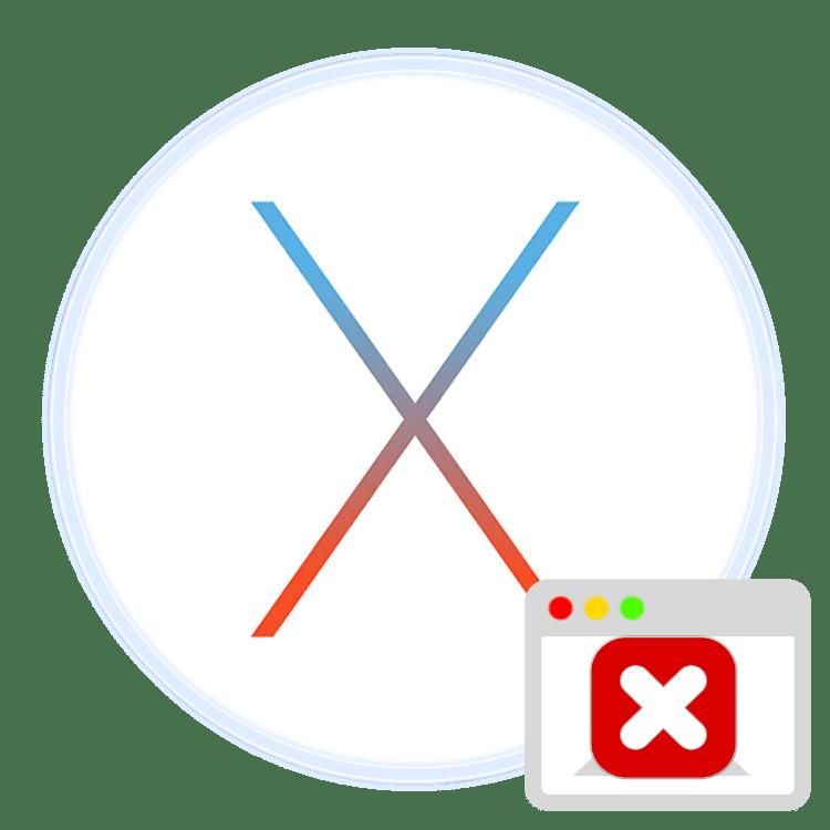 принудительное завершение программ на mac