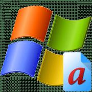 Как изменить шрифт в Виндовс XP
