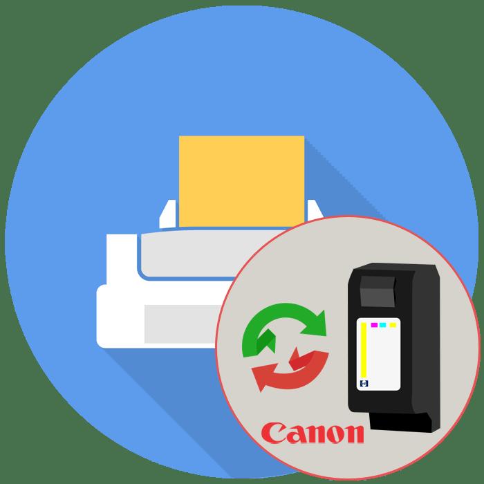 Как поменять картридж в принтере Canon