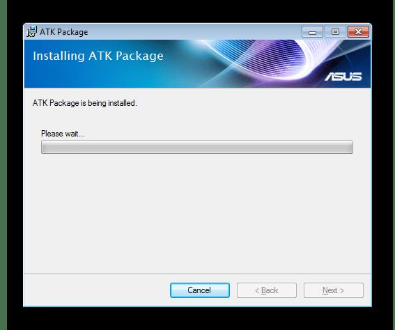 Процедура инсталляции драйверов для устройства ACPI ATK0110