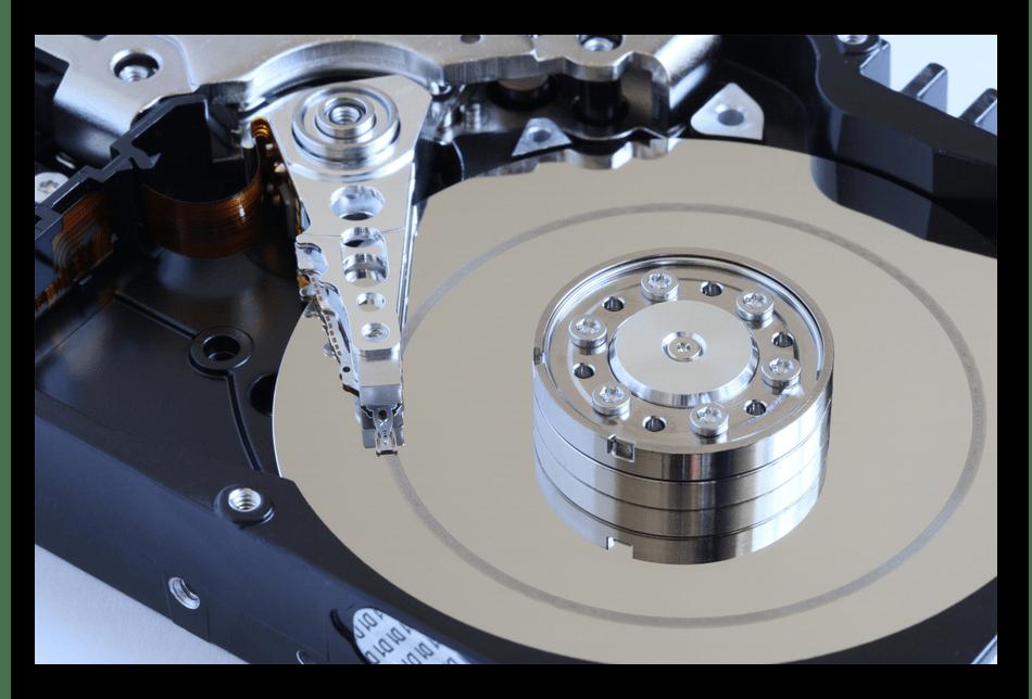 Внешний вид шпинделя компьютерного жесткого диска