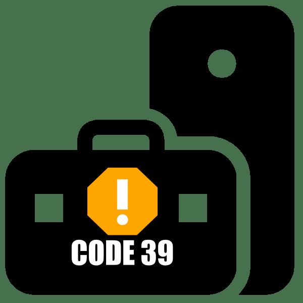 ошибка драйвера код 39