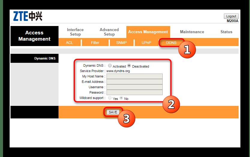 Настройка динамического DNS во время конфигурации роутера Промсвязь