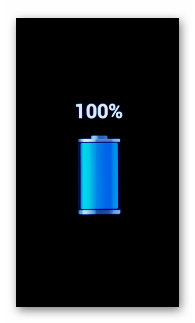 ZTE Blade X3 зарядка батареи девайса перед началом процесса прошивки с помощью заводского рекавери